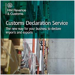 The customs declaration service
